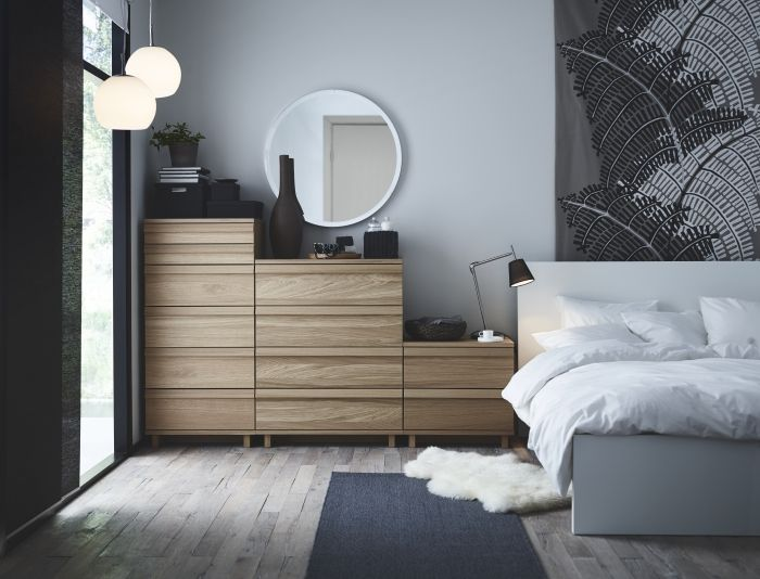 Ladekast Slaapkamer Hout : Oppland serie #ikea #nieuw #slaapkamer #bed #ladekast #nachtkast