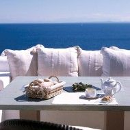 Tasseled cushions