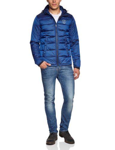 af88f5dbbeae G-star Men s Fraser Quilted Hooded Jacket 83351B.5326.1305 Imperial ...