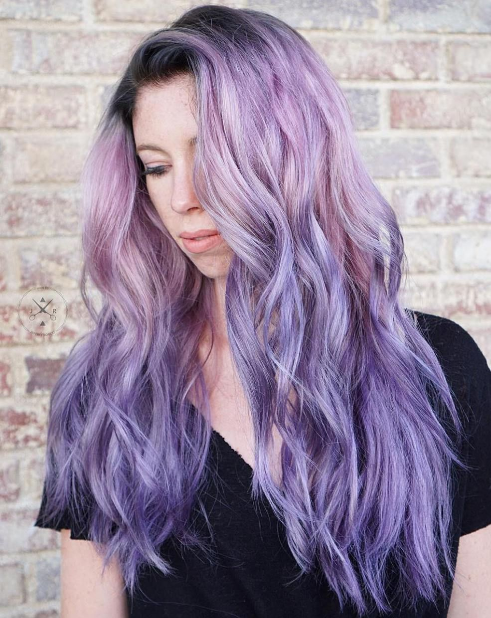 50 Cool Ideas Of Lavender Ombre Hair And Purple Ombre In 2018 Hair