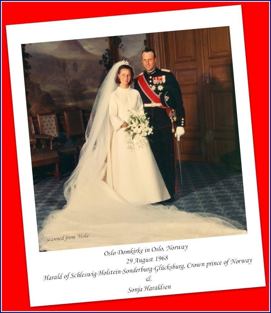 Wedding | Norway - Harald V, King & Sonja, Queen of Norway | Pinterest