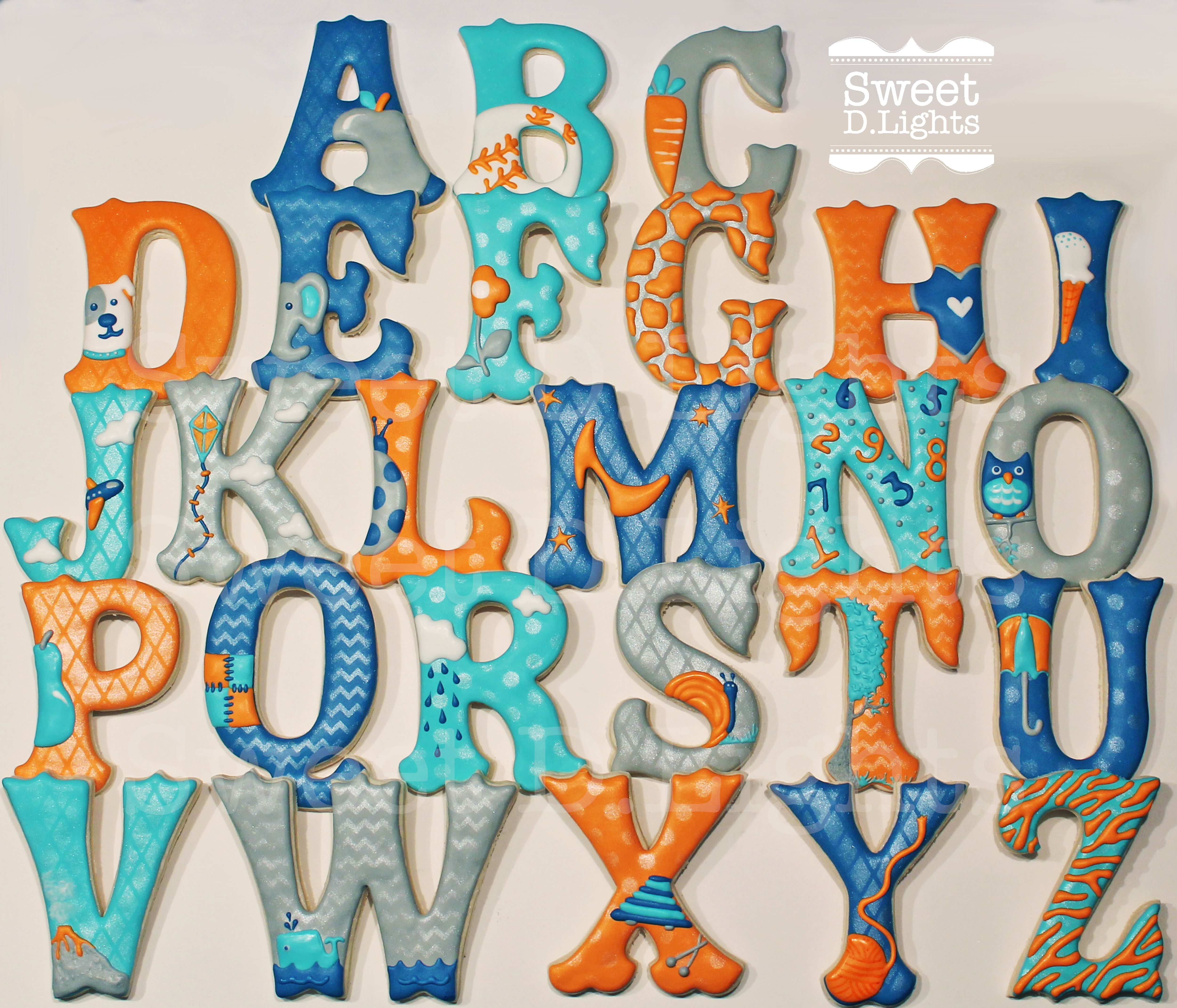 Alphabet gluten free sugar cookies for a little boys birthday party alphabet gluten free sugar cookies for a little boys birthday party each letter has an image of an object that starts with that letter example the altavistaventures Image collections