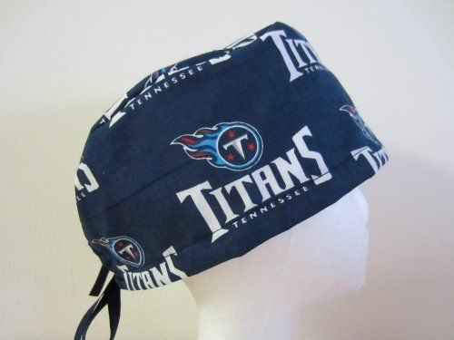 6ec31f35 Mens Scrub Cap, Surgical Hat, Tennessee Titans by Hurricane Caps ...