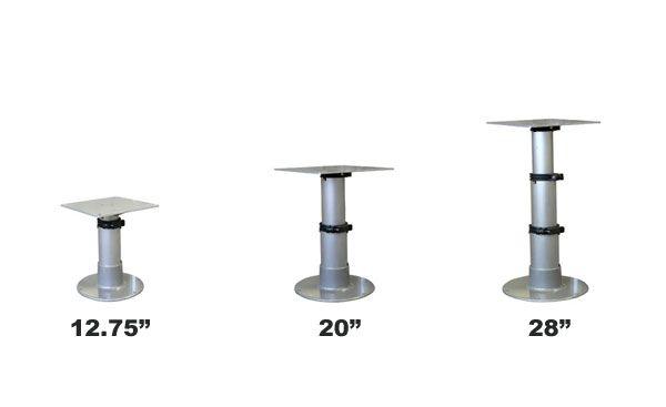 Springfield Gas Powered Table Pedestal Pedestal Rv Furniture Gas