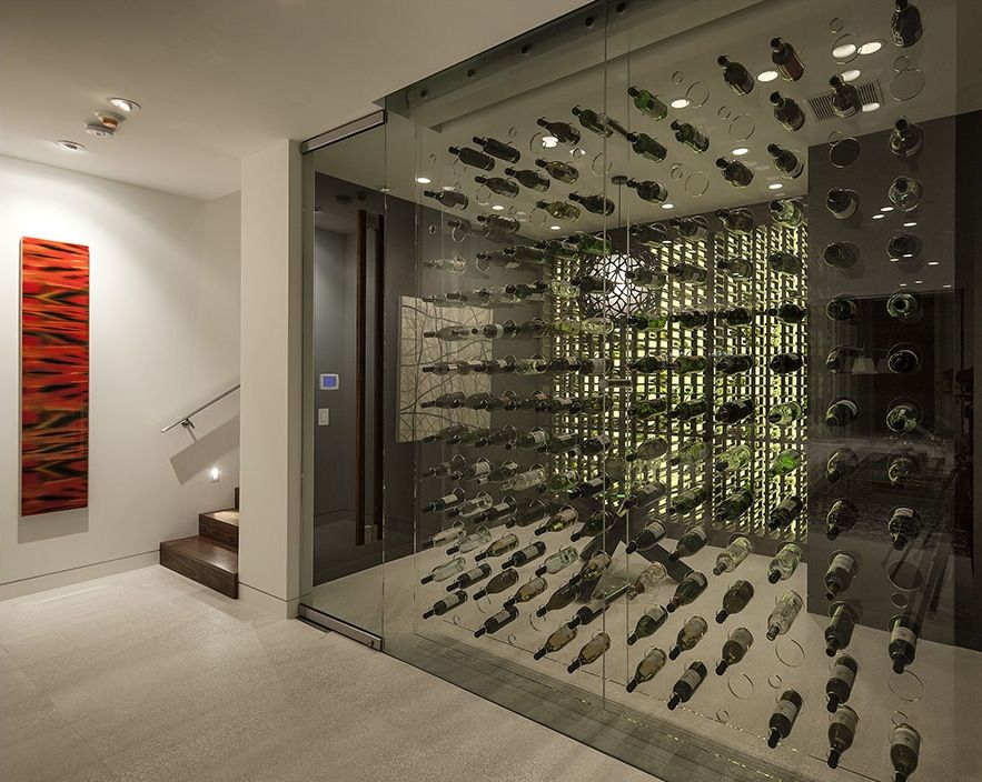 31 Modern Wine Cellar Design Ideas To Impress Your Guests Glass