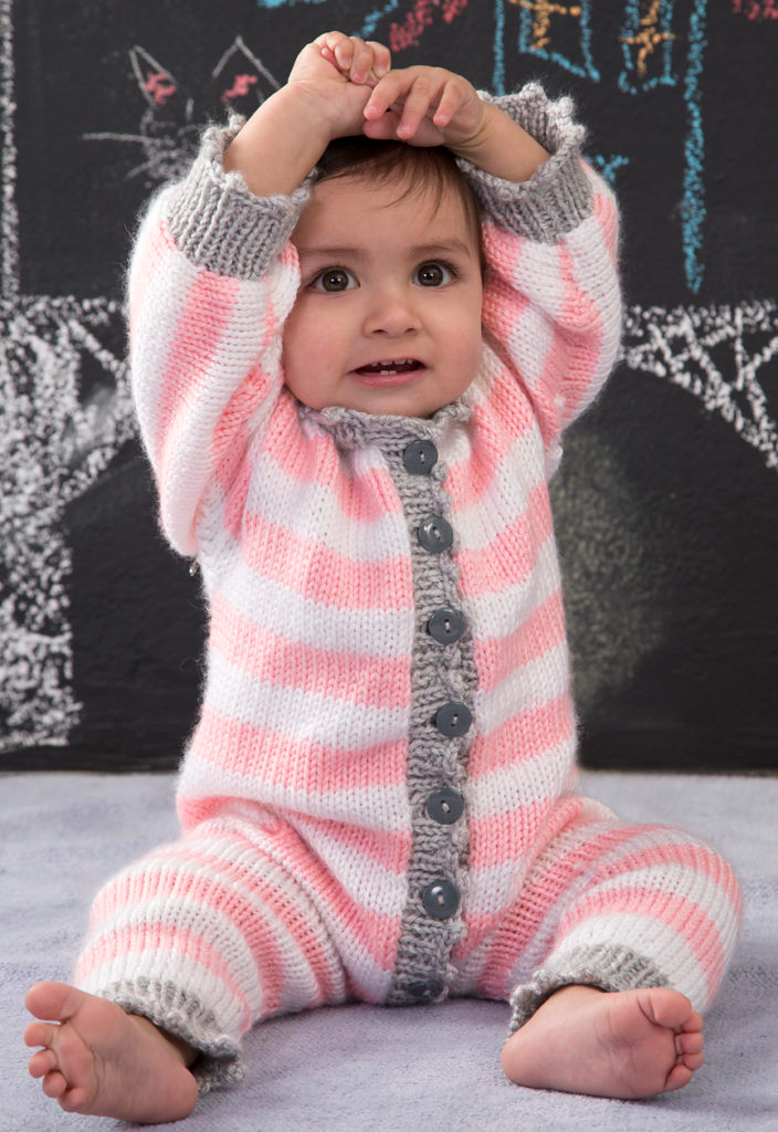 Photo of Baby Onesie and Romper Knitting Patterns