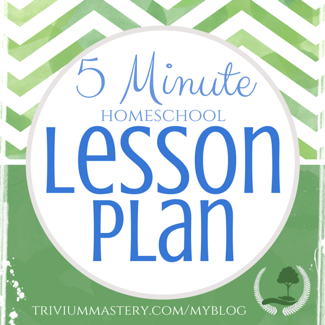 Read Think Write  Speak With The Minute Homeschool Lesson