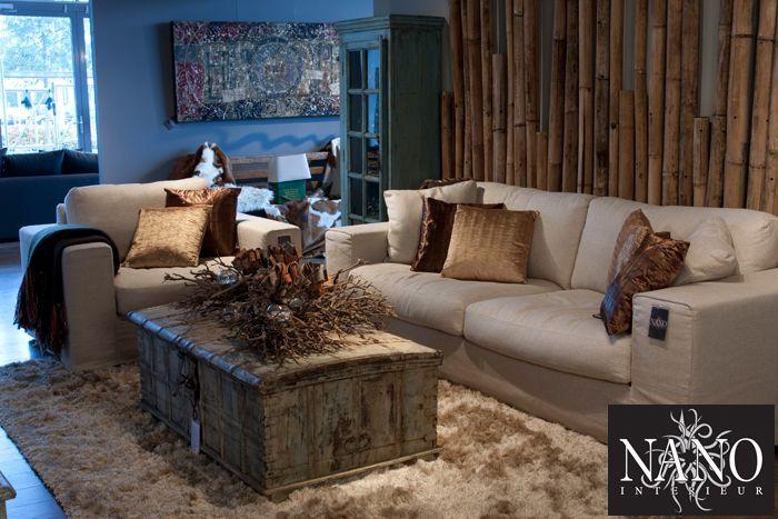 Sofa Bellagio - NANO interieur - landelijk - wonen - rustic ...