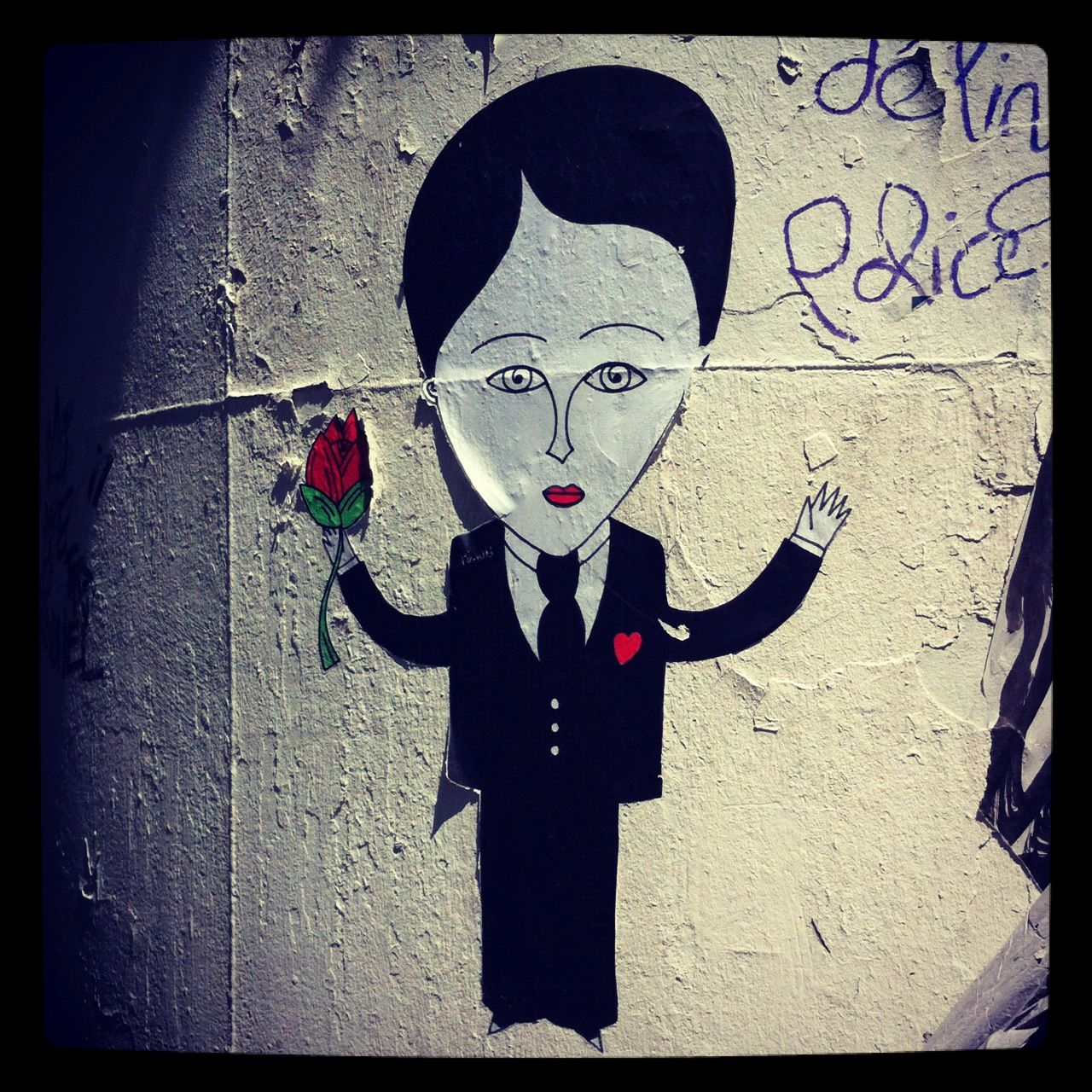 Fred Le Chevalier - Centre Georges Pompidou #StreetArt #Collage