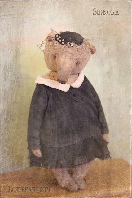 Lost Bears: Италия, начало ХХ века, мои наброски...