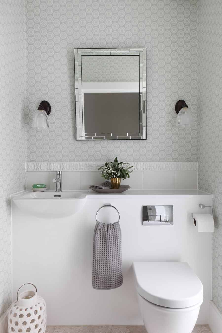 Cloakroom | bathroom ideas | Pinterest | Small spaces, Downstairs ...