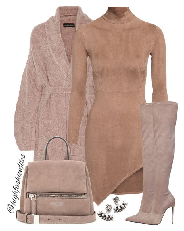 """""""Suede Attack"""" by highfashionfiles ❤ liked on Polyvore featuring DANNIJO, By Malene Birger, Le Silla, Givenchy, chic and suede"""