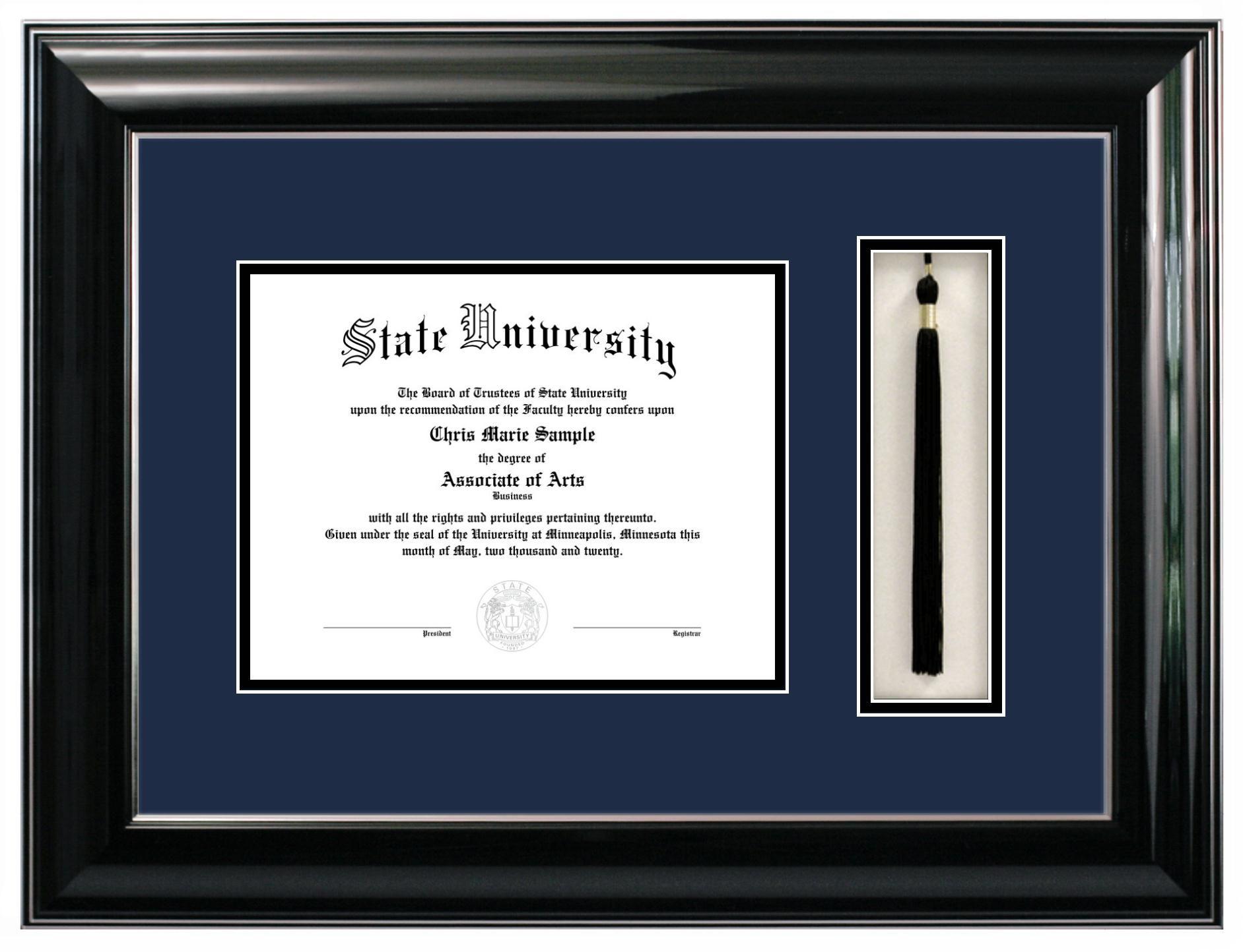Classic Diploma Frame - Tassel -- dang diploma frames are expensive ...