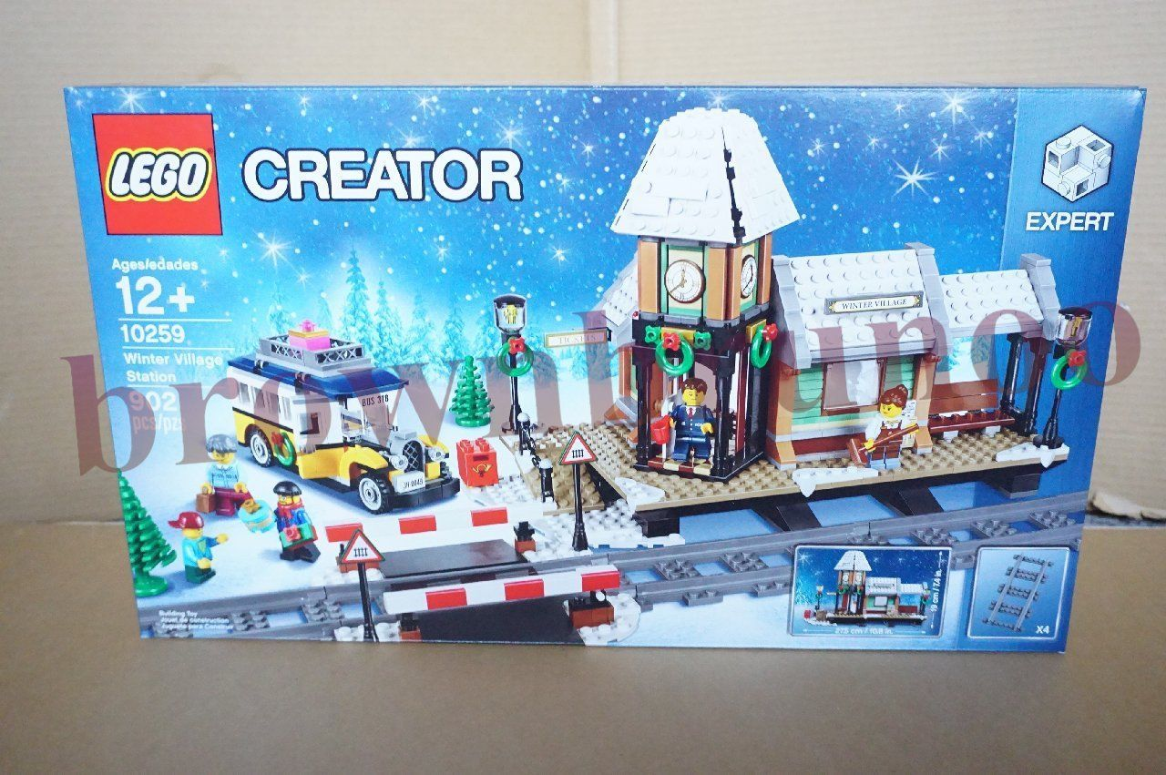 LEGO 10259 Creator Winter Village Station 902 Pieces NEW SEALED