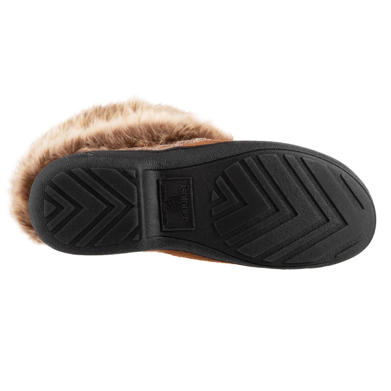6f919b25b693cb Women s isotoner Microsuede Basil Boot Slippers  Microsuede