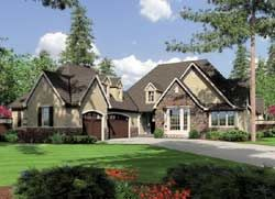 French country House Plan 3 Bedrooms 3 Bath 2904 Sq Ft Plan 74 193