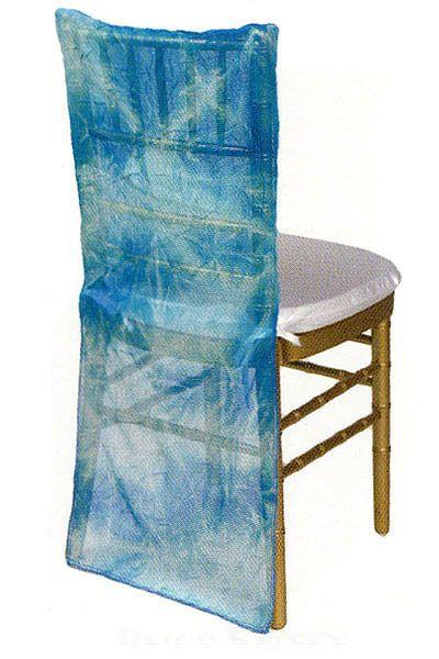 Cool Oceana Tie Dye Sheer Chair Back Linens Chair Covers Creativecarmelina Interior Chair Design Creativecarmelinacom