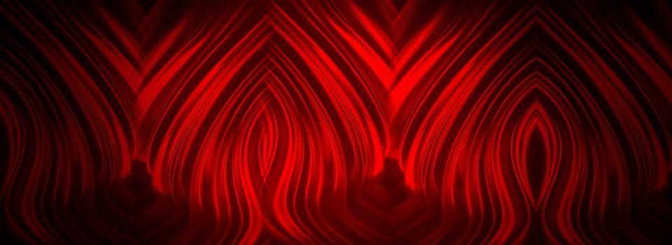Red Neon Light Geometric Pattern Black Banner Background Black Banner Geometric Pattern Background Black Background Images