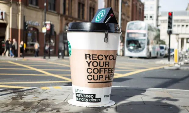 Why Britain's 2.5 billion paper coffee cups are an eco