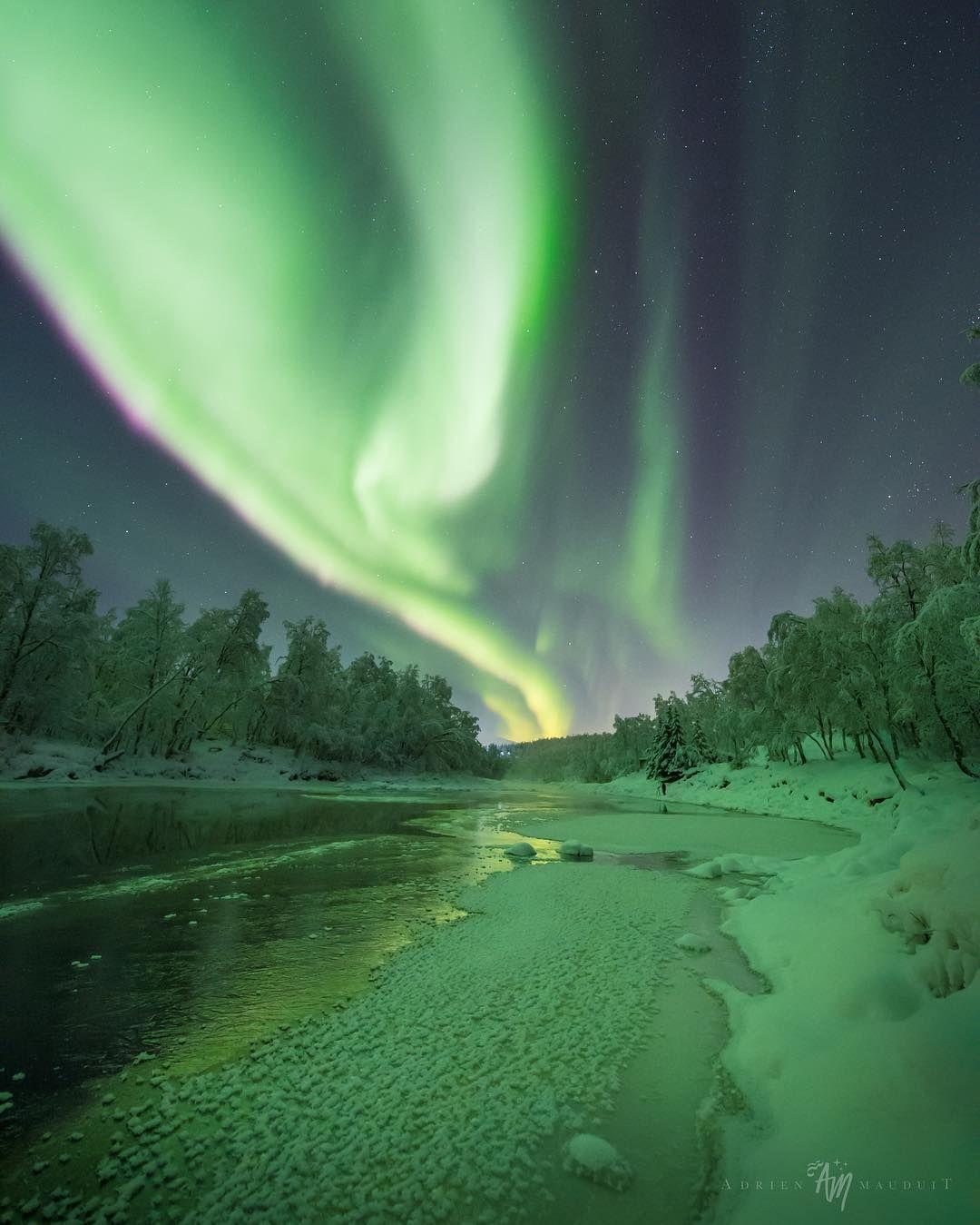 Красота северного сияния на снимках Адриена Луи Модуита ...
