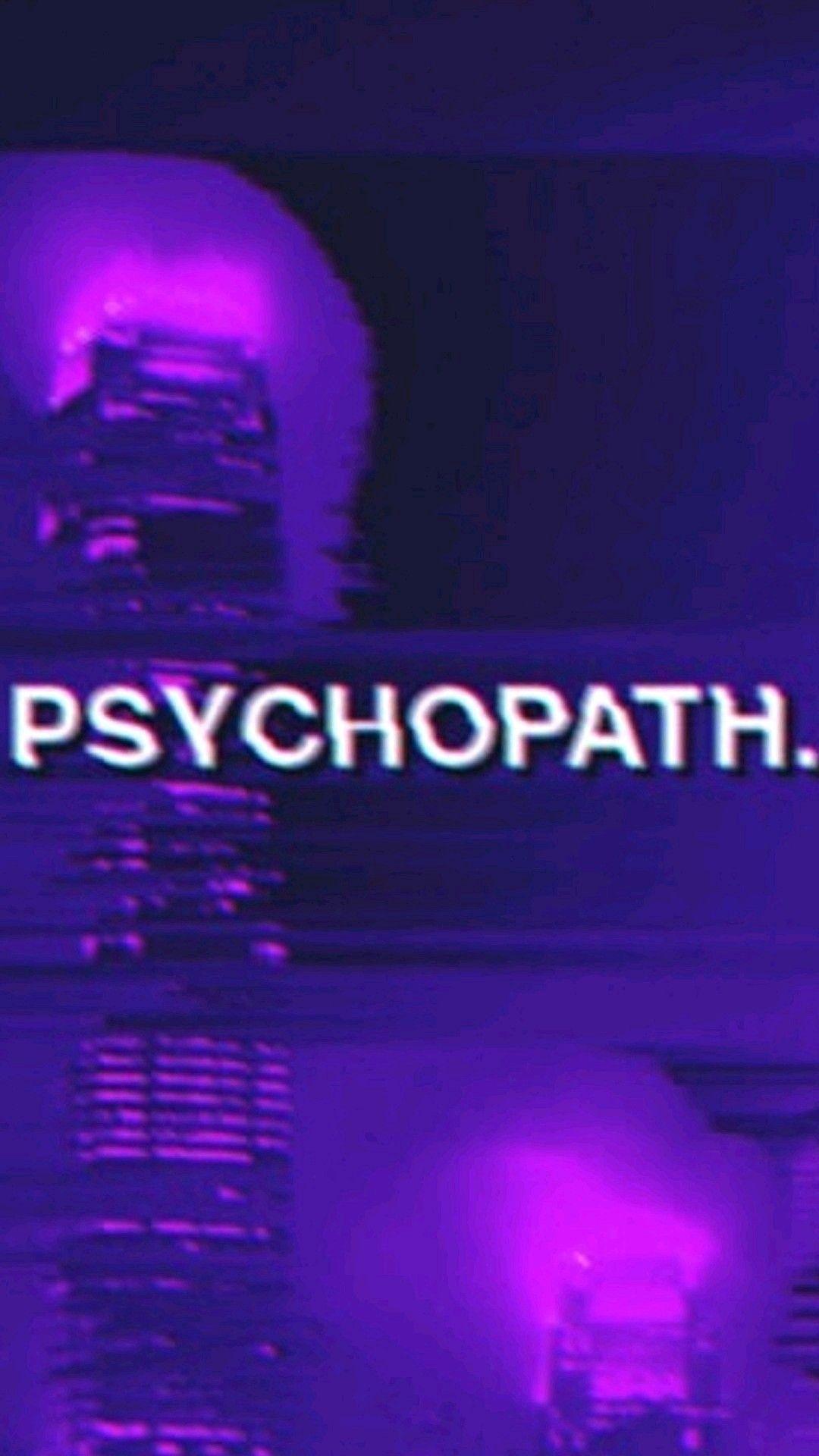 Neon Edgy Purple Aesthetic Wallpaper