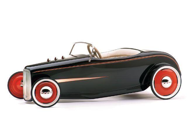 Custom Pedal Cars | Custom 32' Ford hotrod pedal car | Toys ...