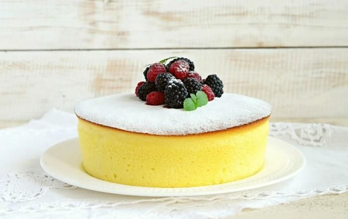 An Airy Japanese Cheesecake Cheese Cake Recipe In Japanese Style