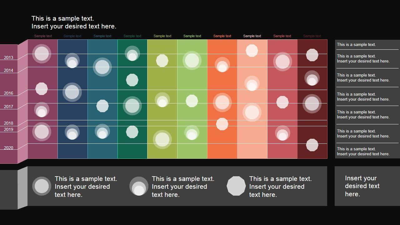 Powerpoint Timeline Matrix Layout Slidemodel Timeline In Powerpoint Project Timeline Template Powerpoint