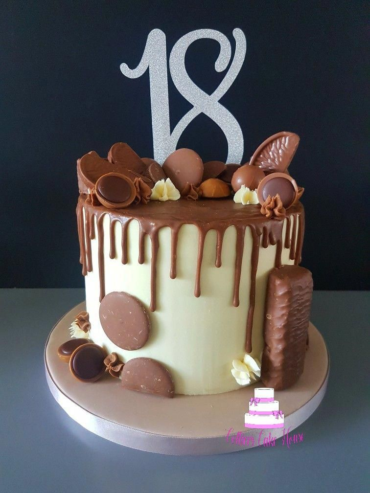 18th Birthday Cake Ideas For Guys : birthday, ideas, Birthday, #dripcaketutorial, Guys,, Cakes,, Golden, Cakes