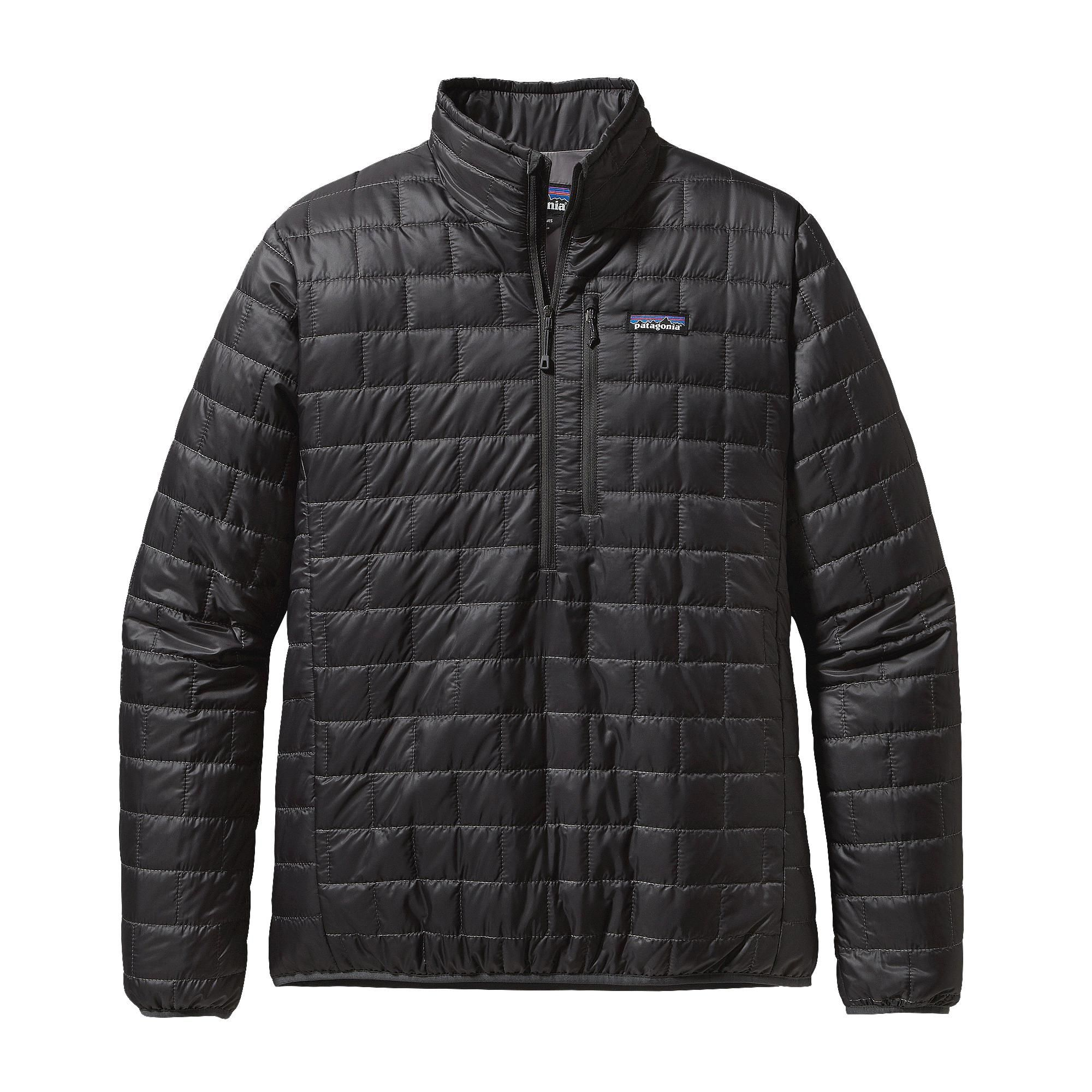 Patagonia Men's Nano Puff® Pullover Hunter Green Mens