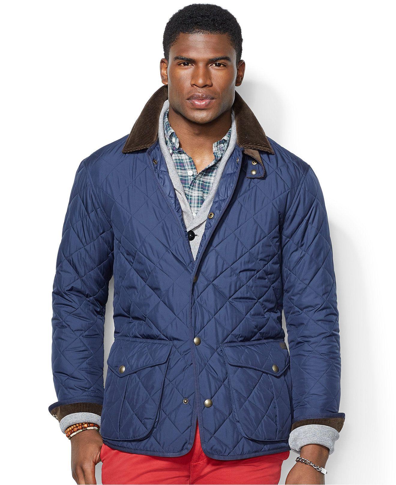 Polo Ralph Lauren Danbury Quilted Car Coat - Coats & Jackets - Men ...