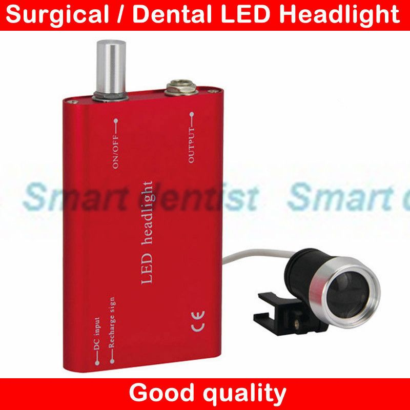 2016 1W LED Rechargeable Battery Medical Head Light Dental Lamp Surgical  Headlamp Portable Headlight
