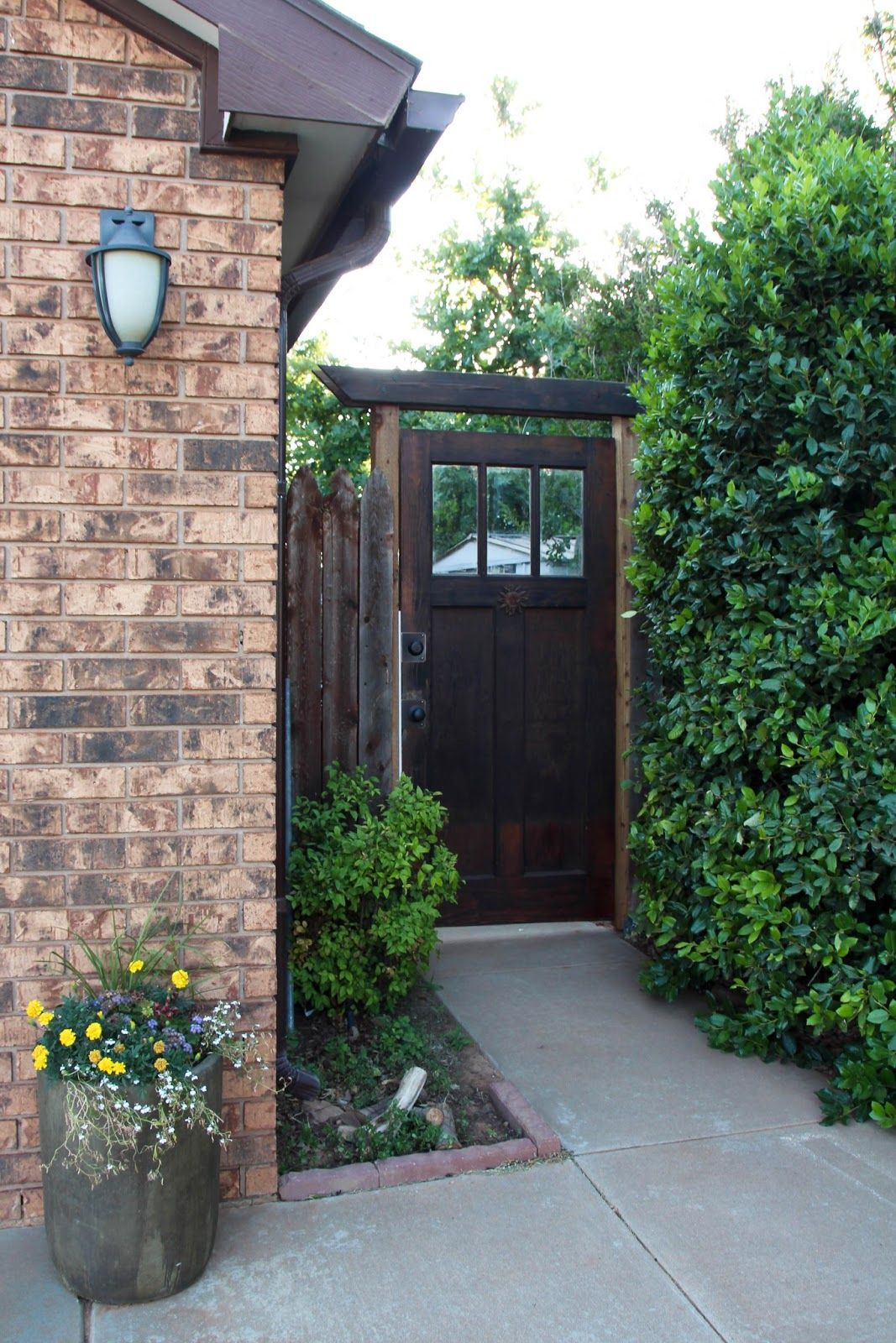 old door for backyard gate house reno ideas pinterest