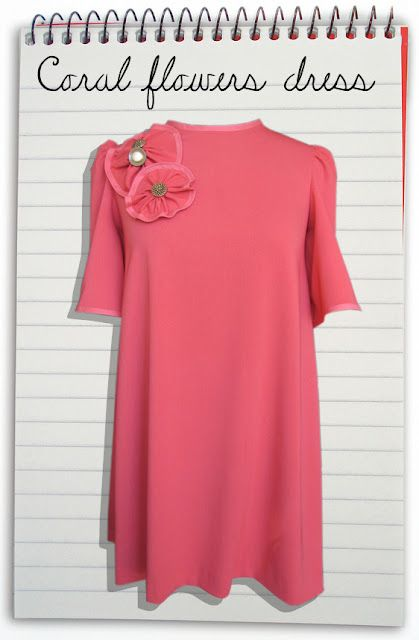 Coral dress by Bohba