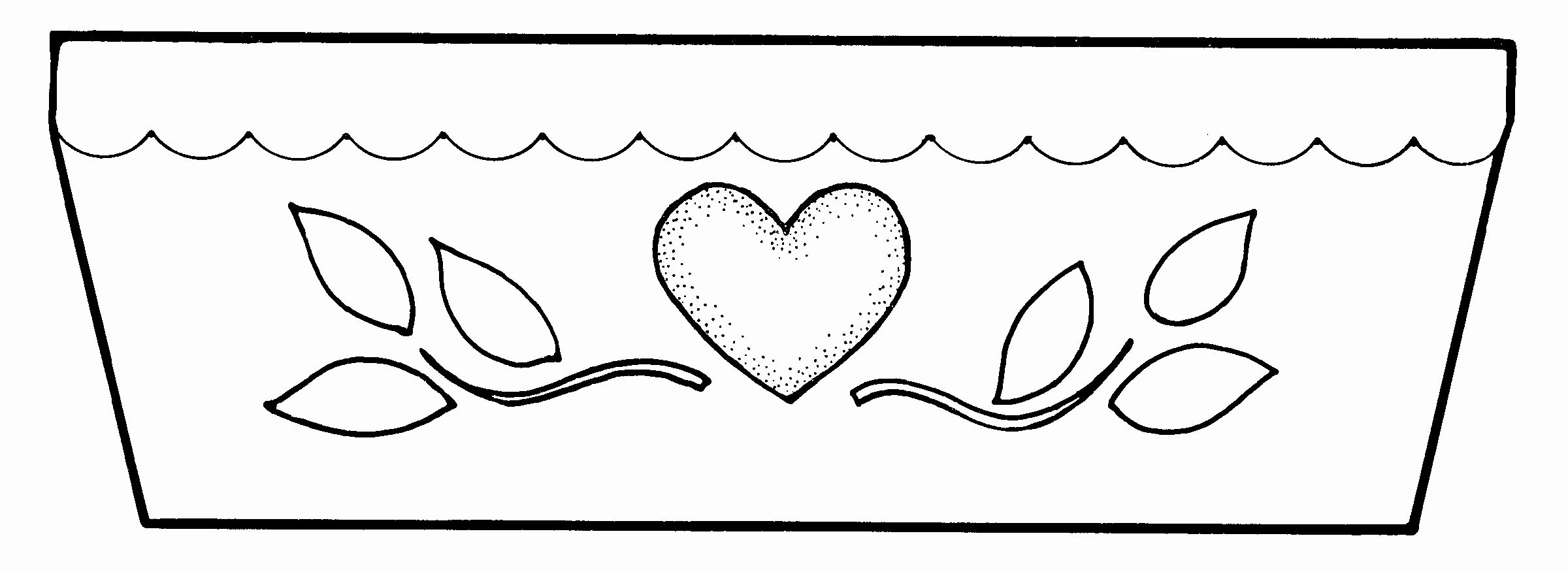 Flower Pot Coloring Pages Lovely Color Pot Clipart 20 Free Cliparts