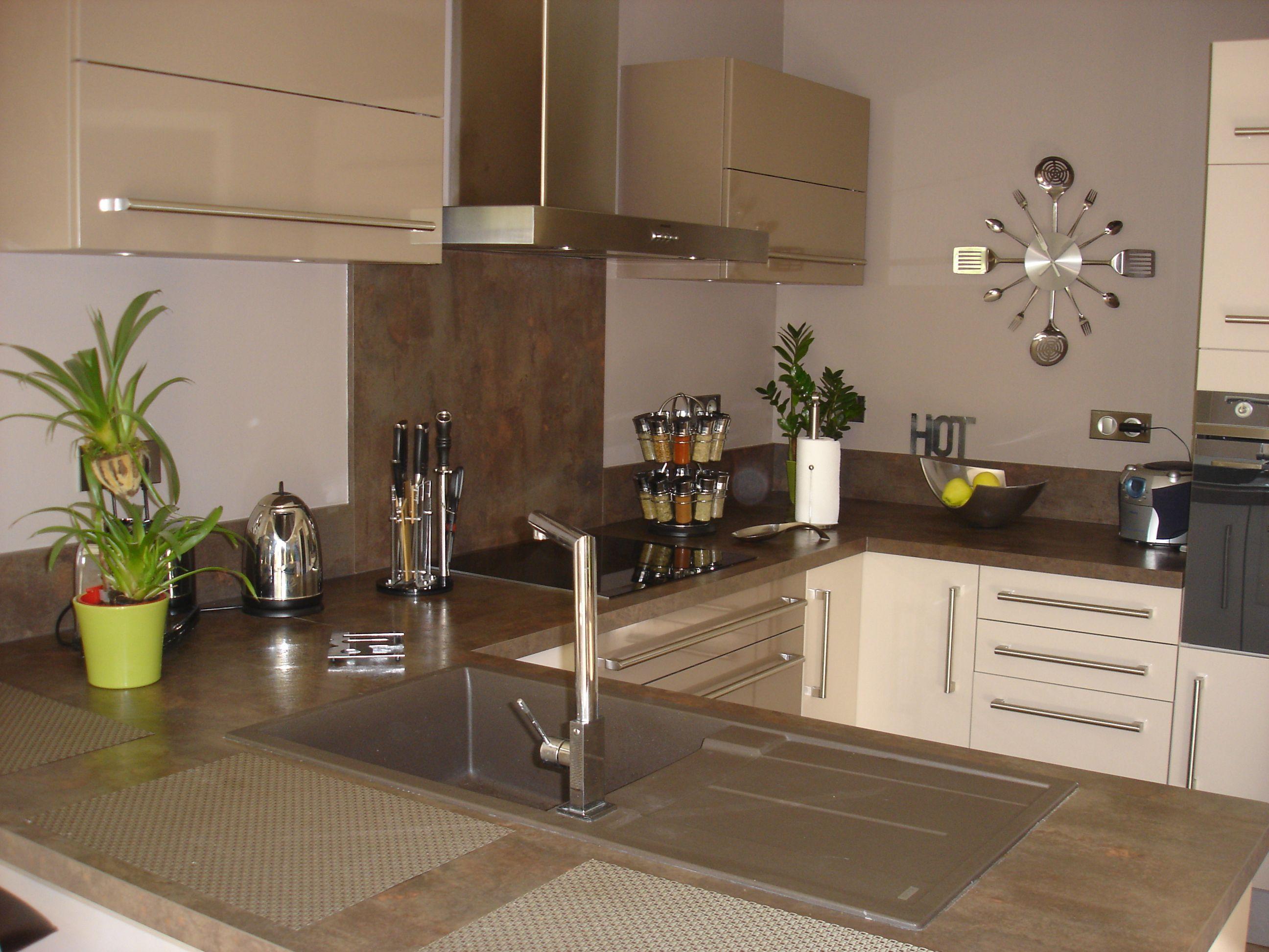 cuisine blanc cass recherche google cuisine pinterest kitchen kitchen cabinets et home. Black Bedroom Furniture Sets. Home Design Ideas