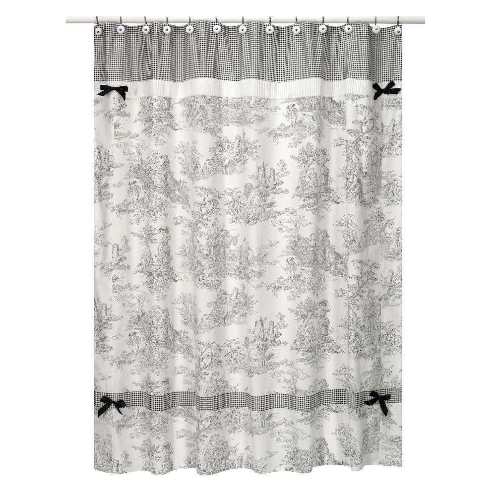 Sweet Jojo Designs Toile Shower Curtain