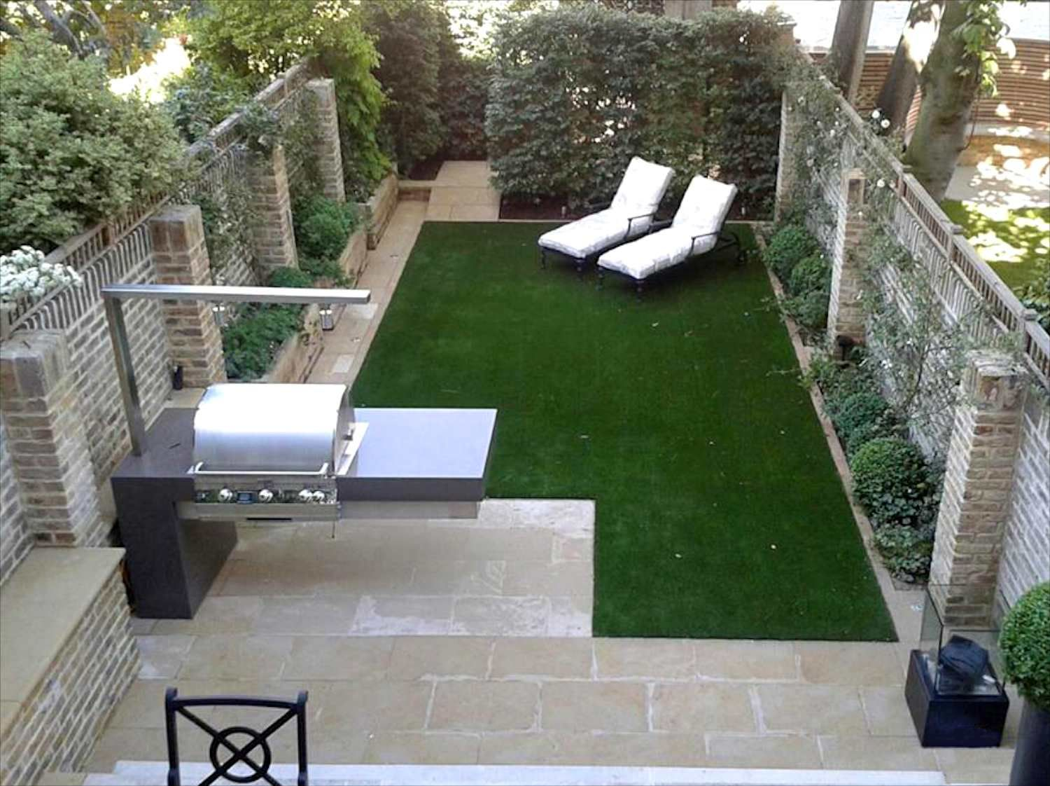 outdoor barbecue design uk | Modern garden design ... on Modern Landscaping Ideas For Small Backyards id=52358