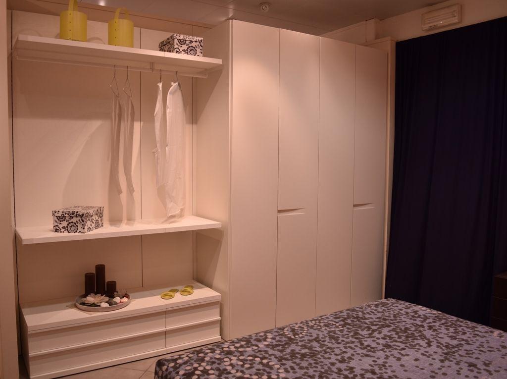 Cabina armadio Sangiacomo abbinata ad un armadio 4 ante Vela | Ideas ...