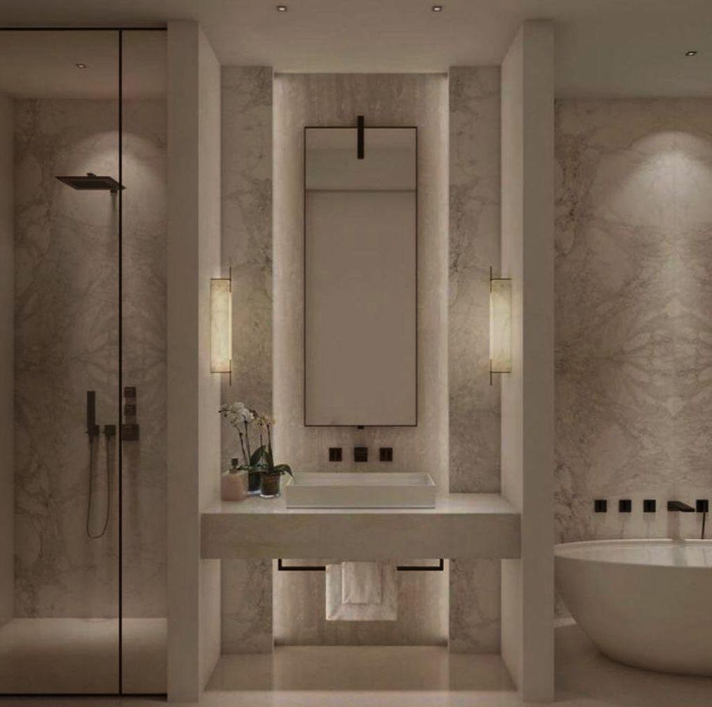 Interdesign Frizz Microfiber Bathroom Shower Accent Rug 30 X 20 Navy Bathroom Interior Design Bathroom Remodel Master Luxury Bathroom