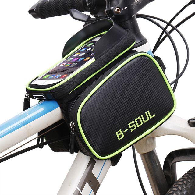 Dccn Fahrrad Rahmentasche Oberrohrtasche Mtb Fahrradtasche Handy