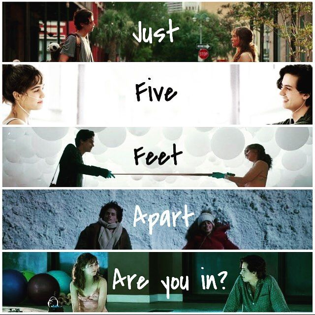 Five Feet Apart Kitap: Five Feet Apart Quote • • • Love This Movie💕😭😍 • • •