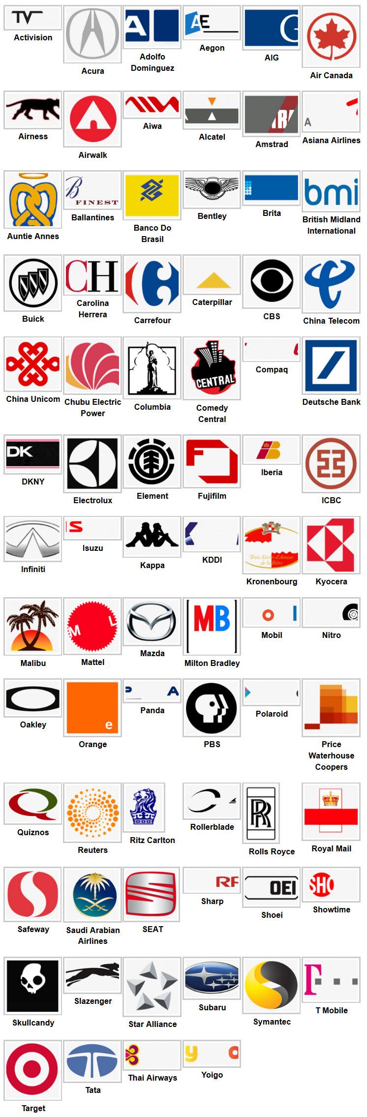 Logo quiz7 Logo quiz, Logo quiz answers, Quiz