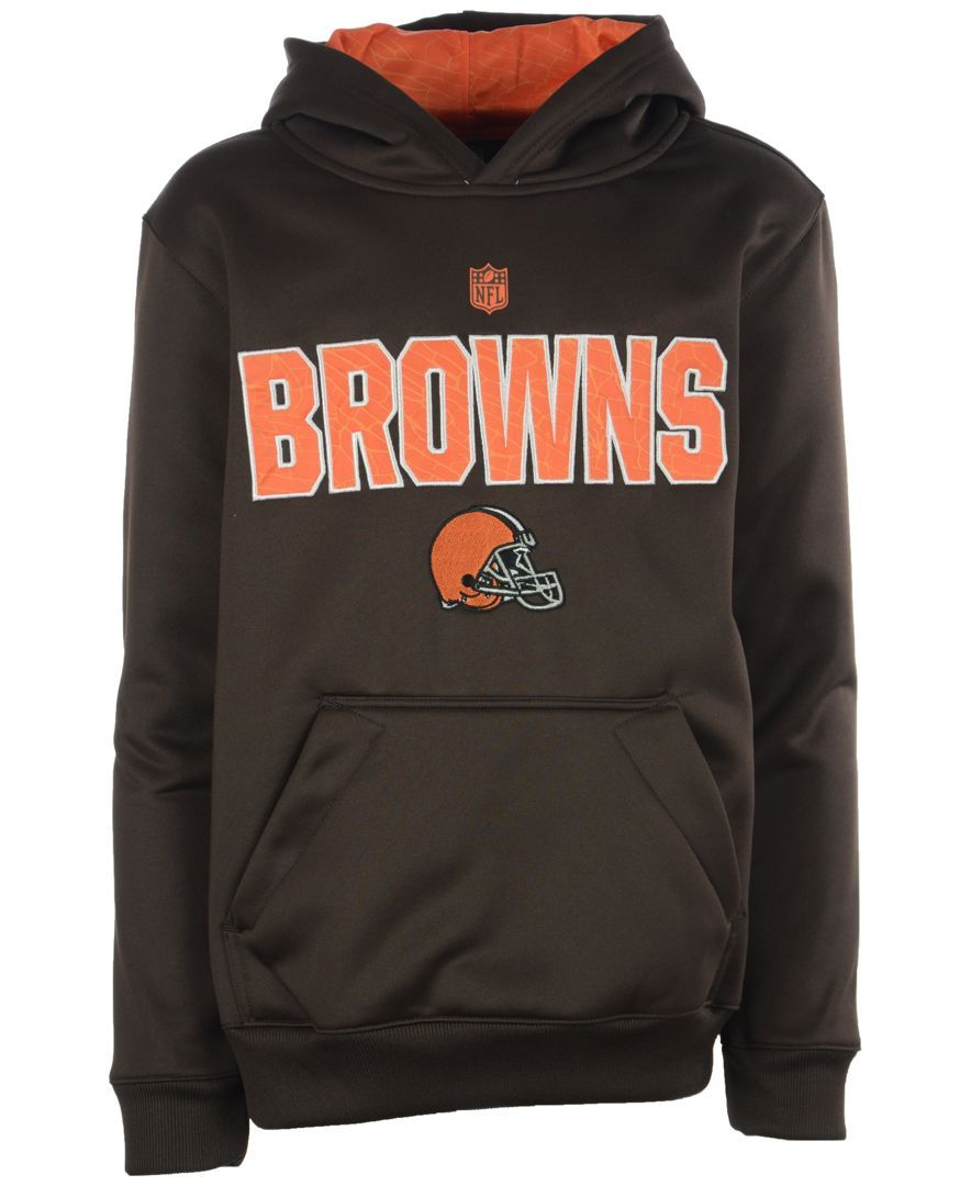 Outerstuff Boys' Cleveland Browns Flex Performance Hoodie