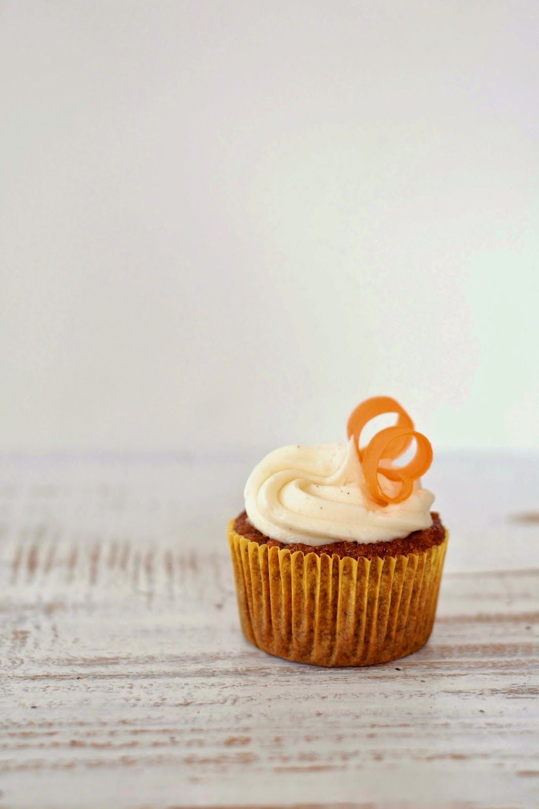 Carrot Cake Cupcakes With Vegan Vanilla Bean Cream Cheese Frosting