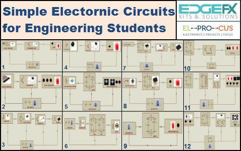 Electronic Mini Projects Circuits – Simple Electronic Circuits ...