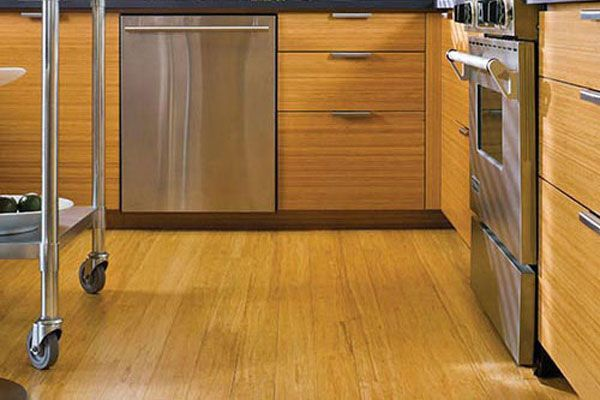 Flooring   Eco Friendly Materials   Green Design   Design In The Kitchen  (and The Bathroom For That Matter), You Want A Sturdy Floor That Can Hold  Up To ...