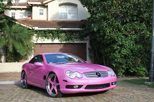 A Pink Mercedes  Benz SL 500 Now This Would Be A Fantastic Valentineu0027s Gift