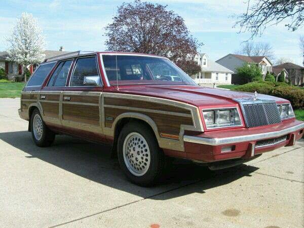 1985  Chrysler Town & Country Turbo Wagon