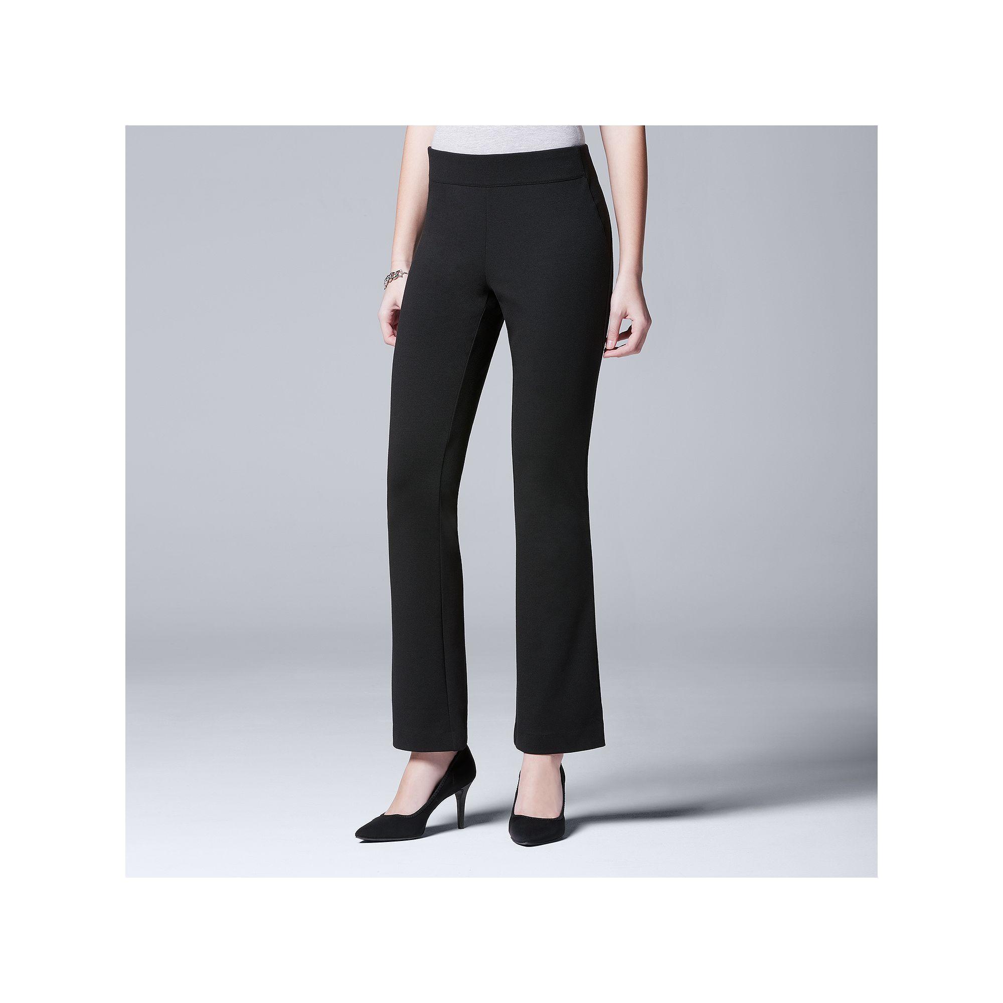 6e65add728 Women's Simply Vera Vera Wang Ponte Bootcut Pants | Products ...